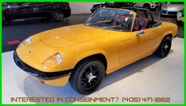 1969 Lotus Elan Series 4