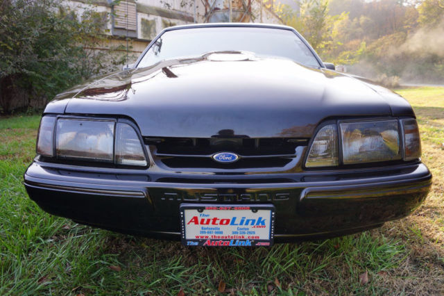 1993 Black Ford Mustang LX with Other interior
