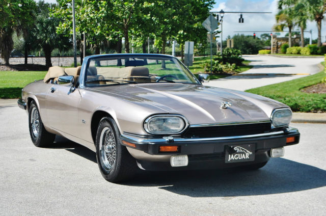 1992 Jaguar XJS Not and better one we can find,