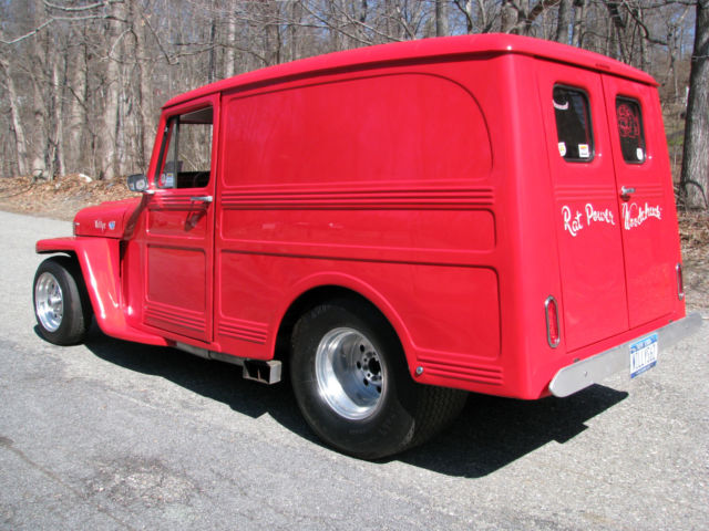 1962 Willys Panel Delivery Pro Street
