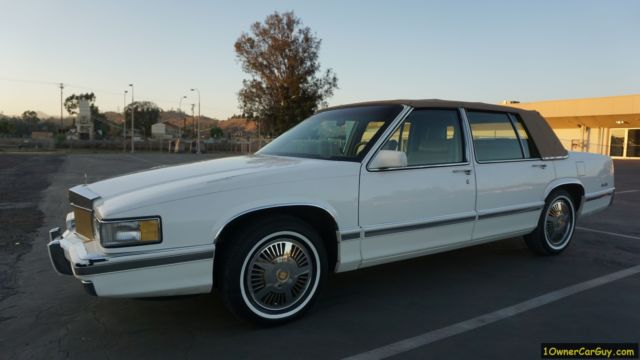 1 owner cadillac sedan deville continental kit vogue package 47k orig mi video for sale photos technical specifications description topclassiccarsforsale com
