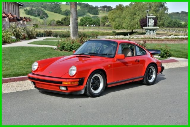 1984 Porsche 911 911 CARRERA COUPE