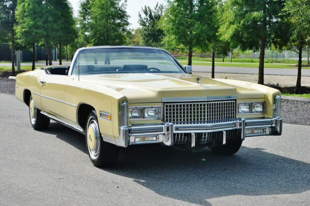 1975 Cadillac Eldorado All original 1 owner 36ks must be seen.