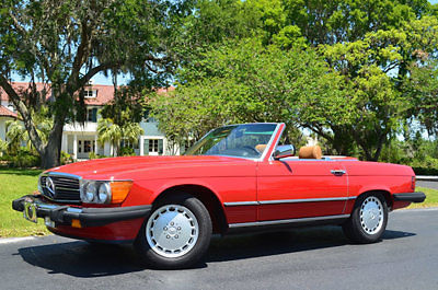 1986 Mercedes-Benz SL-Class 560SL 2-Door Roadster