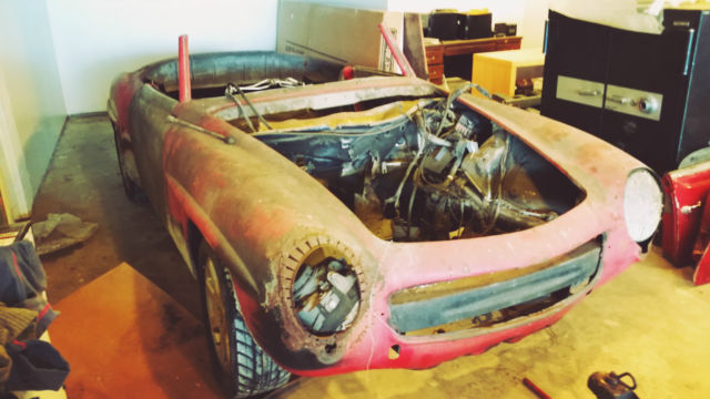 190sl project car on a mercedes slk chassis and lot of for Mercedes benz used parts miami