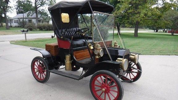 1910 REO One Cylinder Car for sale: photos, technical