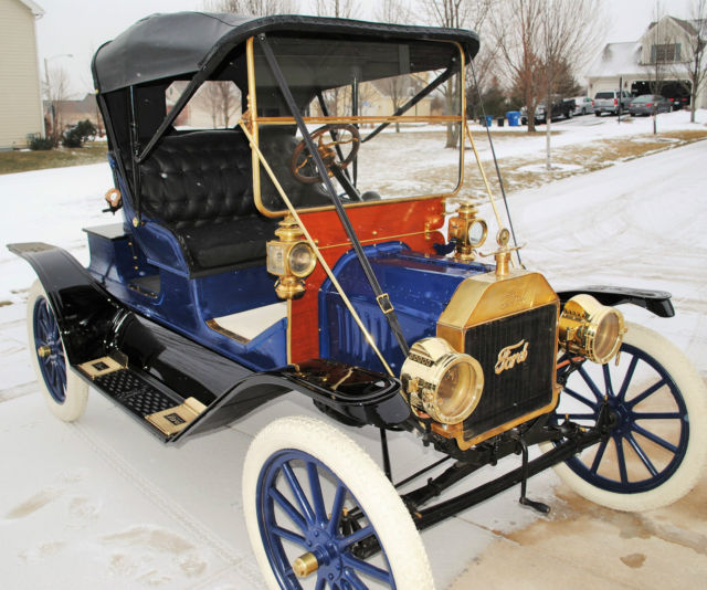 1911 Ford Model T 3-passenger Runabout For Sale: Photos