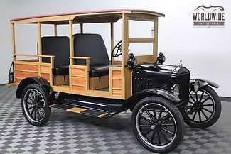 1917 Ford Model T Restored. $35K Invested