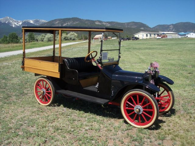 1917 Other Makes 1917 Woods Mobilette Sheridan Light Delivery