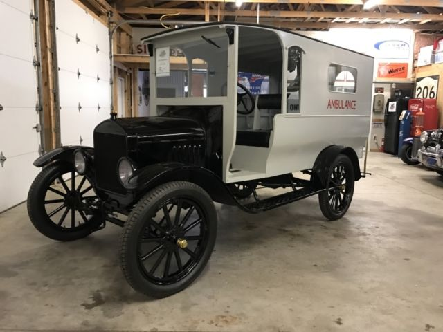 1922 Ford Model T Panel Truck Delivery