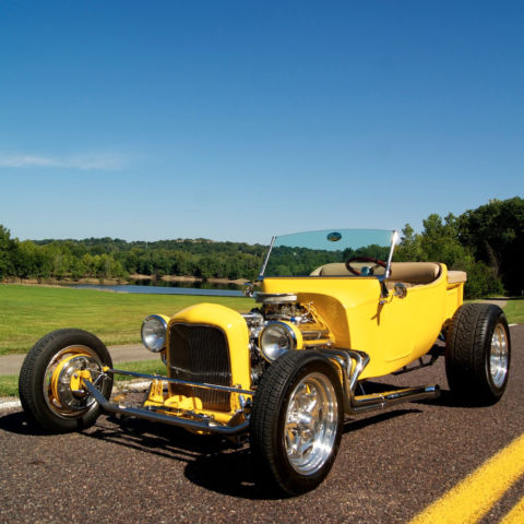 1923 Yellow Ford Other T Bucket Roadster with Tan interior