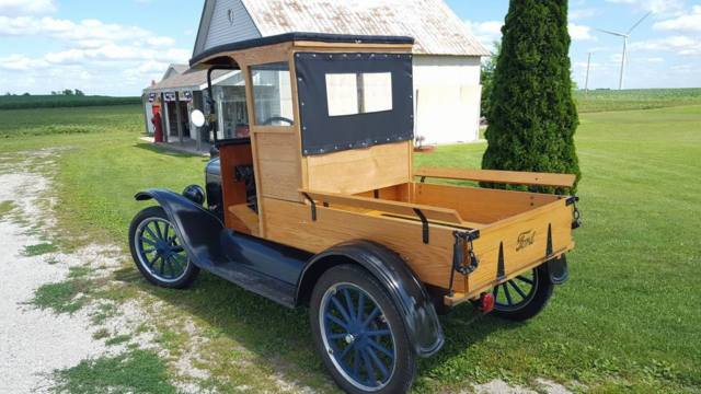 1923 ford model t delivery truck for sale photos technical specifications description. Black Bedroom Furniture Sets. Home Design Ideas