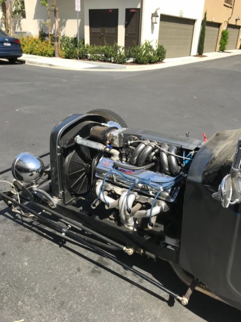 1923 Ford T bucket newer Chevy 305 engine for sale: photos
