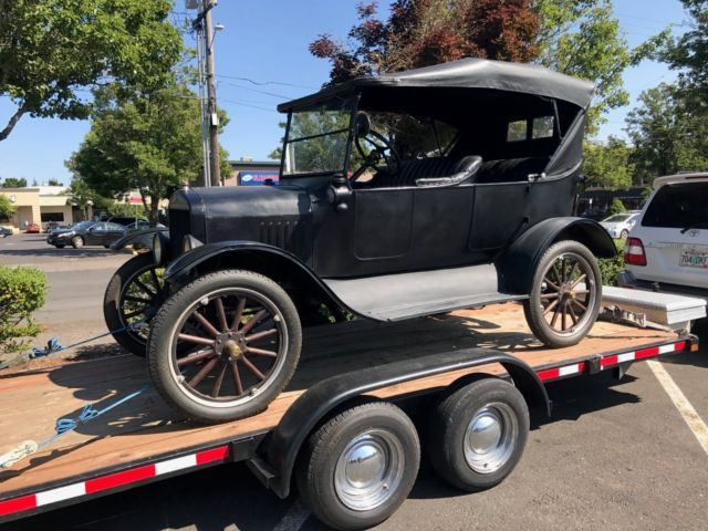 1923 Model T Ford -- Touring car & 1923 Model T Ford -- Touring car for sale: photos technical ... markmcfarlin.com
