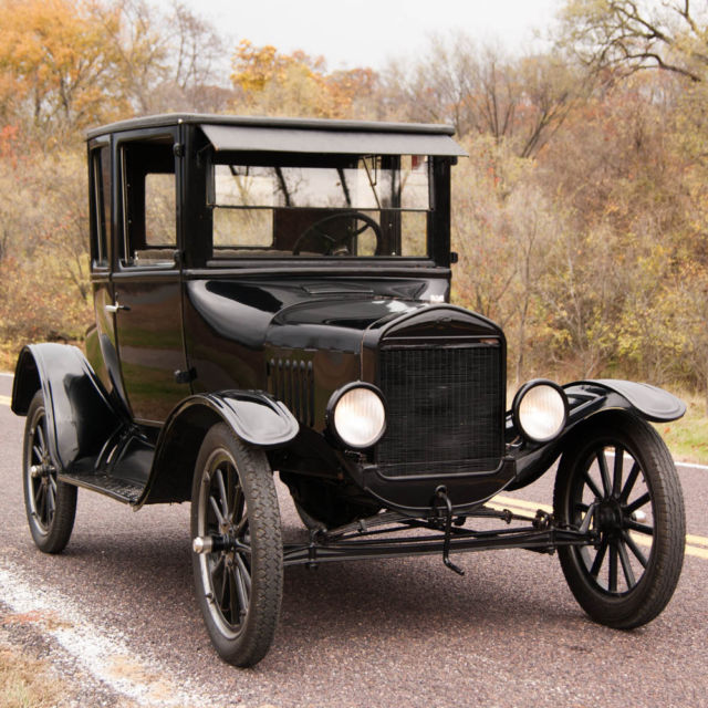 1924 ford model t rare high top coupe nicely restored to for Telephone number for ford motor company