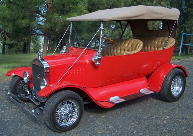 1924 Ford Model T Street Rod Phaeton 3 door touring