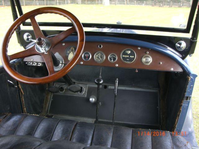1924 Studebaker Touring car for sale: photos, technical