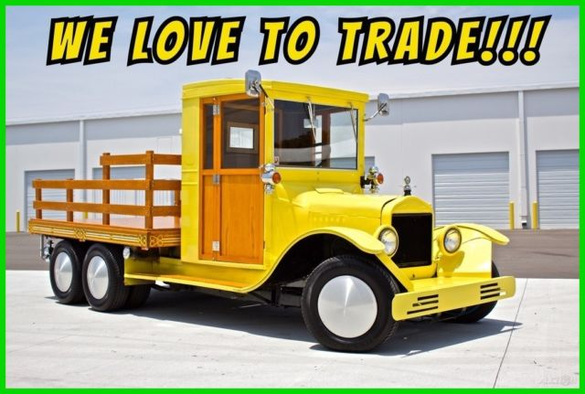 1925 Ford Model T PickUp / Handcrafted Wood / Custom Interior / Nissan Powered