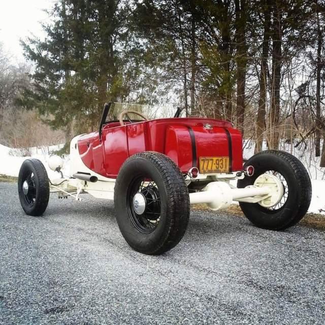 Ford Model T Hot Rod Vintage Race Car Roadster