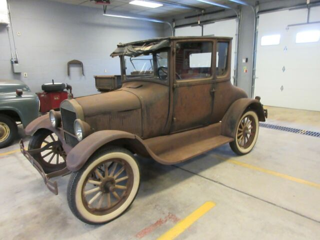model t coupe weight