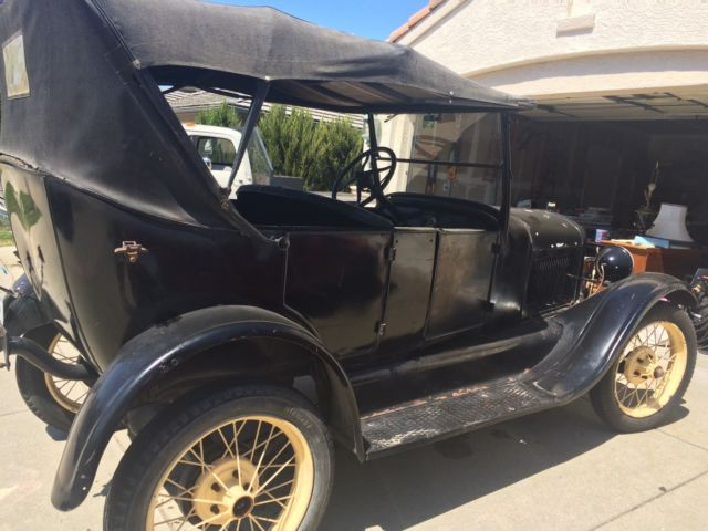 1926 Model T Ford Touring car for sale photos technical