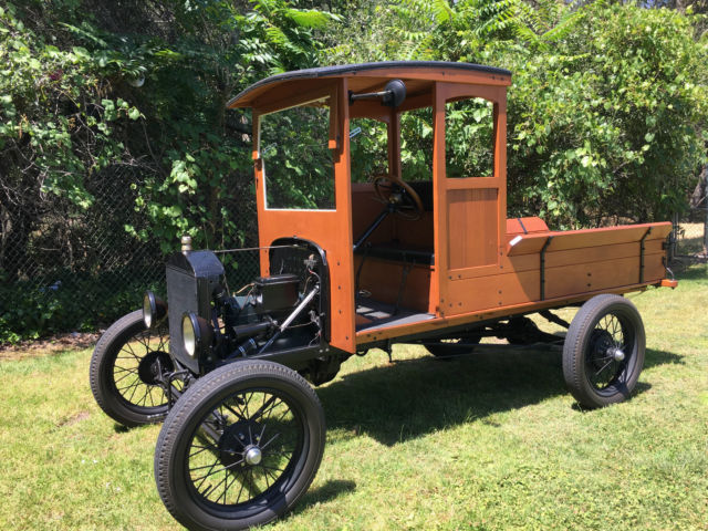 1926 Model T Ford wood bodied pick up for sale photos technical