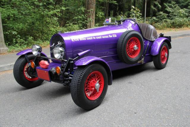 1927 Bugatti Type 35. 8,458 Miles Coast-To-Coast! NO RESERVE
