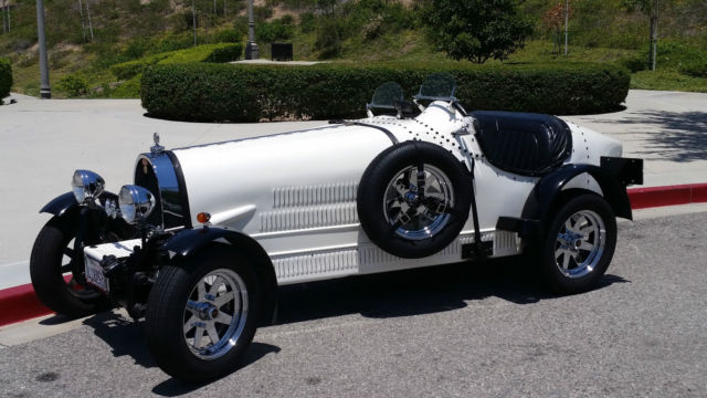 1966 Replica/Kit Makes 1927 Bugatti Type 35b