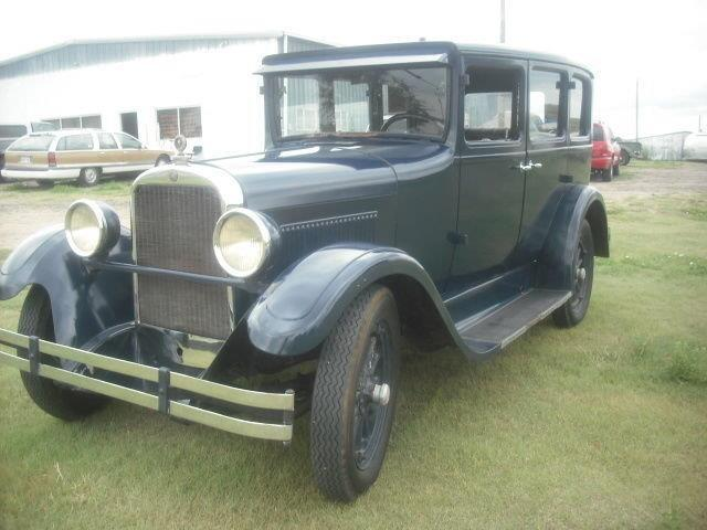1927 Dodge Brothers 4 dr Sedan Suicide Doors