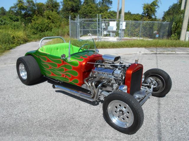 1927 Ford Model T Roadster Old School Hot Rod
