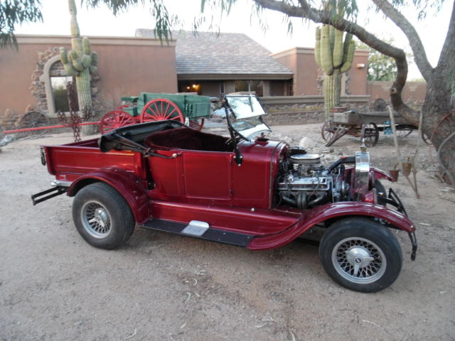 1927 Ford Model T 1927 Ford Roadster Truck,327/AT, All Steel Body