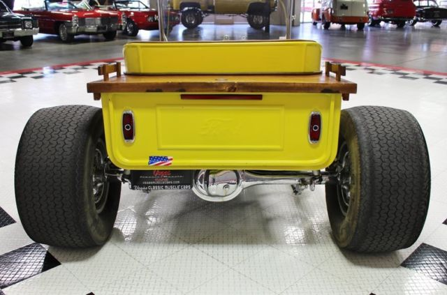 1927 Yellow Ford Other Pickups -- Roadster with Tan interior