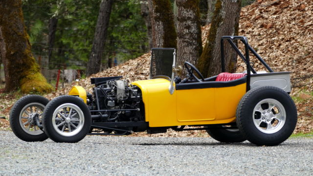 1927 FORD TBUCKET ROADSTER BUILT BY JEFF JAHNS TURBO 23 EFI RACE