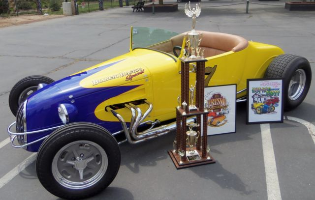 1927 Ford Track Roadster Award Winner