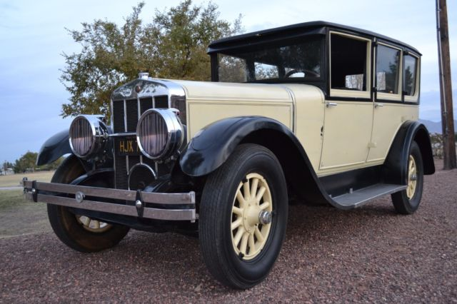 1927 Ford (not Ford or Chevy) RARE FRANKLIN 11B 4 DR RUNS GREAT - NO RESERVE