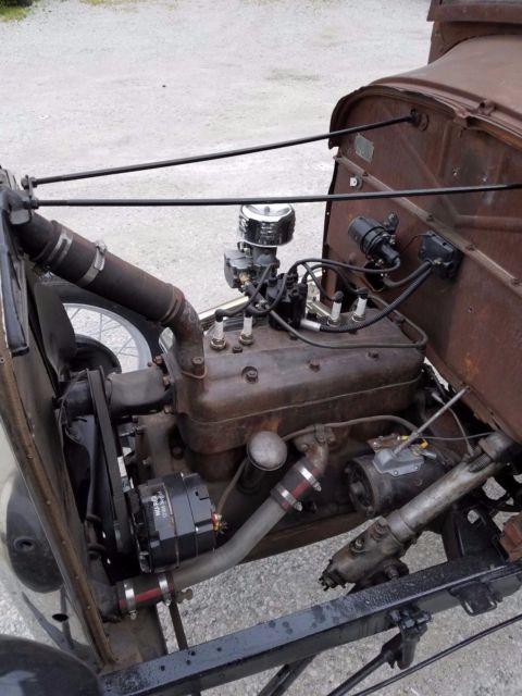 1928 1929 Ford Model a truck pick up hot rod Rat banger ...