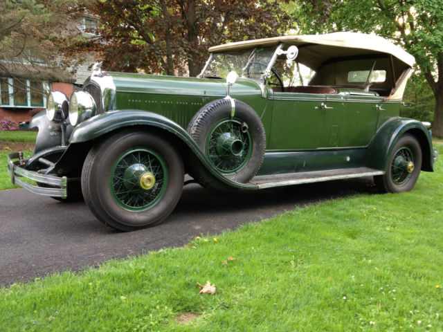 1928 Chrysler Imperial Original Phaeton LeBaron Custom Body Pebble Beach