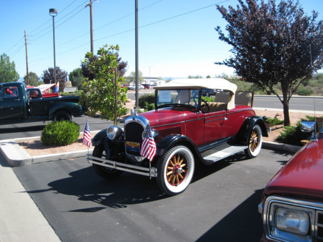 1928 Chrysler Model 52 Roadster with Rumble Seat