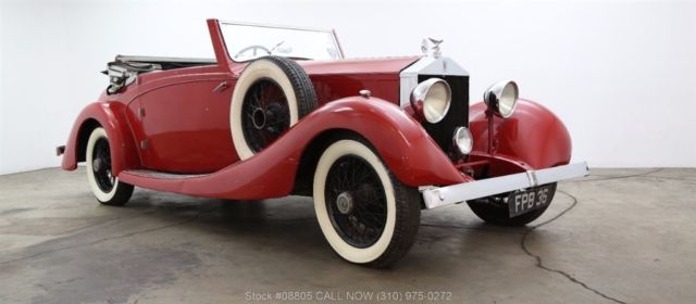 1928 Rolls-Royce 20HP 3 Position Drophead Coupe