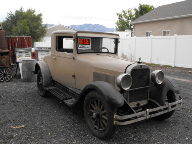 1928 Dodge coupe standard 6