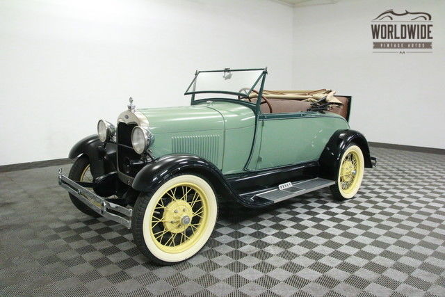 1928 Ford Model A COLLECTORS CAR $18K APPRAISAL! DRIVER!