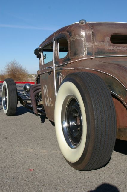 1928 Ford Model A Coupe Hot Rod Rat Rod Chopped Vintage Custom Kustom Street Rod for sale ...