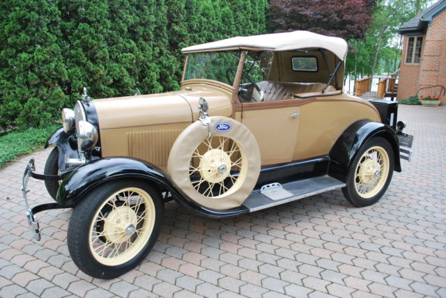 1928 Ford Model A Convertible Roadster