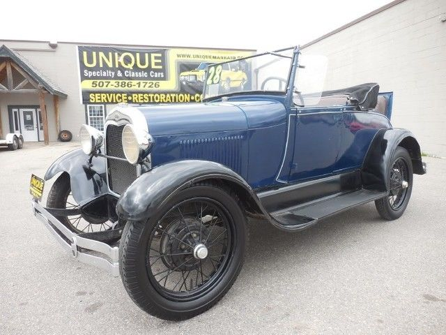 1928 Ford Model A Rumbleseat