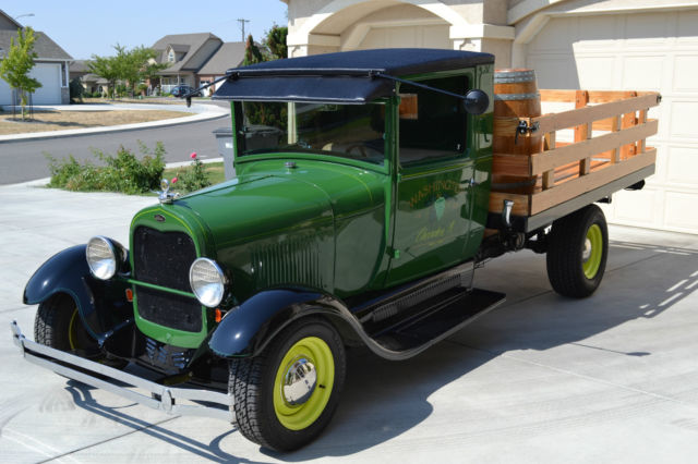 1928 ford model aa stake bed truck for sale photos technical specifications description. Black Bedroom Furniture Sets. Home Design Ideas