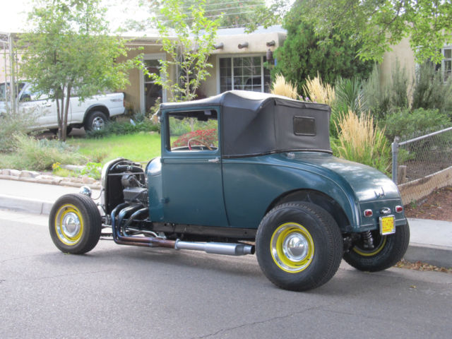1928 Ford Model A sport coupe 2 door