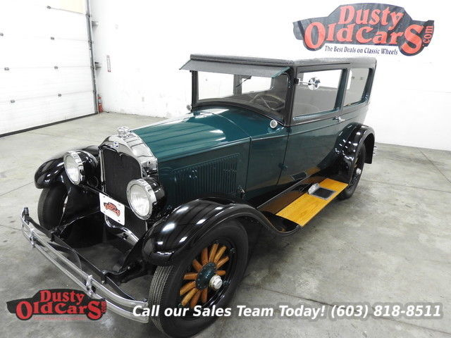 1928 Buick Other Runs Drives Body Inter Excel 255 S6 3spd