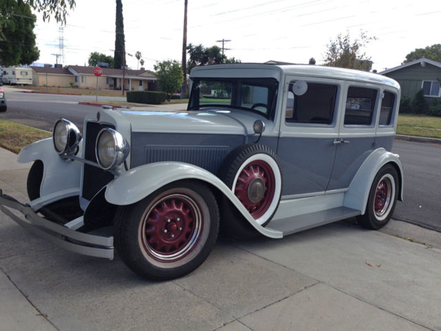 1928 Hupmobile Classic Hot Rod All Steel Turn Key Rare