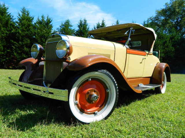 1928 Oldsmobile Other F-28 Roadster Rumble Seat 6