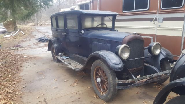 1928 Blue Other Makes with Burgundy interior